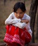 Birmańska mała dziewczynka Obrazy Stock