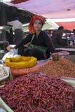 Birmańska kobieta Myanmar - Inle jezioro - Zdjęcia Royalty Free
