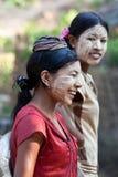 Birmańska dziewczyna Fotografia Royalty Free