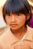 Birmański dziewczyna portret Zdjęcia Royalty Free