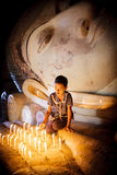 Birmaans meisje Royalty-vrije Stock Afbeeldingen