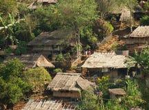 In Birmaans vluchtelingskamp royalty-vrije stock afbeelding