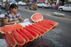 Birmaanse markt Stock Fotografie