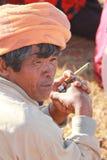 Birmaanse mens Royalty-vrije Stock Foto