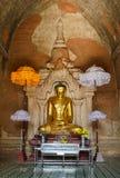 Birmanebuddha-Statue, Myanmar Stockfotografie