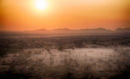 Birmania热空气气球5 库存图片