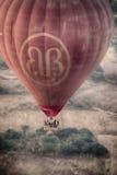 Birmania热空气气球4 免版税库存照片