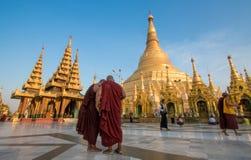 Birmania tempel 2 Fotografering för Bildbyråer