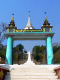 Birmania. Templo de Kyaukme Imagenes de archivo
