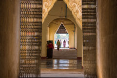 Birmaniatempel 1 Stock Fotografie