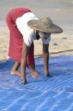 从birmanie的妇女 免版税库存照片