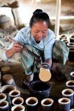 Birmanische Frau Lizenzfreie Stockfotografie