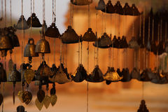 Birmanische Tempelglocke Lizenzfreie Stockfotografie