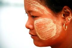 Birmanisches Mädchen, Myanmar Stockfoto