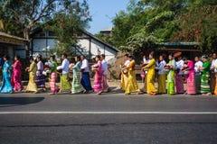 Birmano locale Immagini Stock