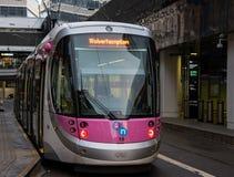Birmingham al tram di Wolverhampton fotografie stock