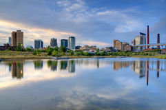 Birmingham Alabama horisont Arkivfoton