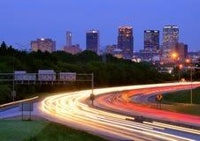 Birmingham Alabama horisont Royaltyfria Bilder