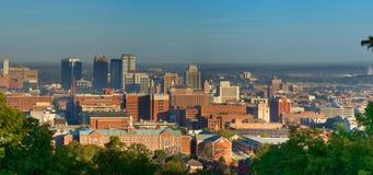 Birmingham, Alabama (Pano) Fotografia Stock