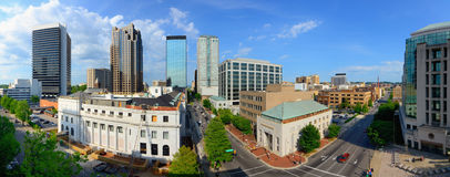 Birmingham Alabama Panorama Stock Photo