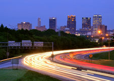 Birmingham, Alabama Skyline Royalty Free Stock Images