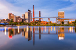 Birmingham Alabama Skyline. Birmingham, Alabama, USA city skyline Stock Photo