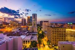 Birmingham, Alabama, USA. Downtown city skyline stock image