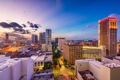 Birmingham, Alabama, USA. Downtown city skyline stock photo