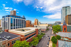 Birmingham, Alabama. USA downtown city skyline royalty free stock images