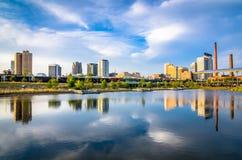 Birmingham, Alabama, USA. Downtown city skyline royalty free stock photo