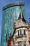 Birmingham Architecture: Modern and Victorian Royalty Free Stock Photography