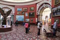 Birmingham art gallery Stock Images