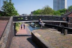 Birmingham Canal Royalty Free Stock Photos