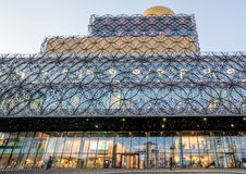 Birmingham Central Library At Dusk Royalty Free Stock Photography