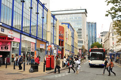 Birmingham city center Royalty Free Stock Image