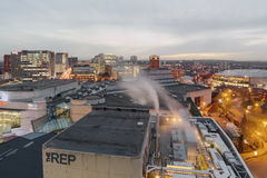 Birmingham City Skyline Royalty Free Stock Photography