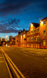 Birmingham City UK at dusk Stock Images