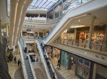 Birmingham,England, Apri 23rd, Bullring Shopping Mall A Royalty Free Stock Photo