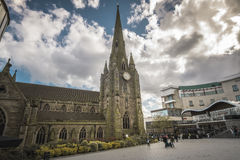 Birmingham,England, Apri 23rd, Bullring St Martins Church Royalty Free Stock Photos
