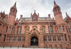 Birmingham,England, May 18th 2015 Court Royalty Free Stock Image