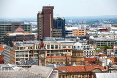 Birmingham England skyline Royalty Free Stock Images