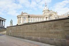 Birmingham, Großbritannien - 6. November 2016: Äußeres des Birmingham-Stadtrat-Gebäudes in Victoria Square Lizenzfreies Stockbild