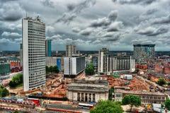 Birmingham HDR Foto de Stock Royalty Free