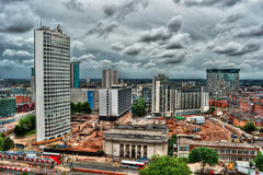 Birmingham HDR Royalty Free Stock Photo