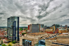 Birmingham HDR Royalty Free Stock Photo