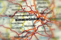 Birmingham, het Verenigd Koninkrijk het UK - Europa Stock Afbeeldingen