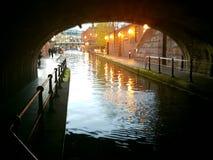 Birmingham kanal royaltyfria foton