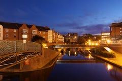 Birmingham kanal Arkivfoto