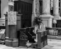 Birmingham katedry ambona Zdjęcie Stock
