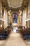Birmingham katedry Nave Zdjęcia Royalty Free